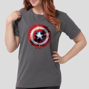 Avengers Cap Shield Sp Womens Comfort Colors Shirt