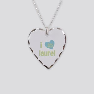 I Love Laurel Lying Game Necklace Heart Charm