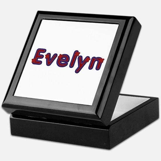 Evelyn Red Caps Keepsake Box