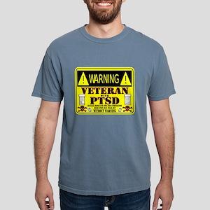 PTSD Medicated Veteran Mens Comfort Colors Shirt