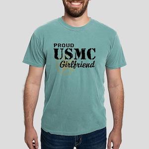 usmcgirlfriend2d3 Mens Comfort Colors Shirt