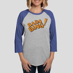 The Sopranos: Badda Bing Womens Baseball Tee