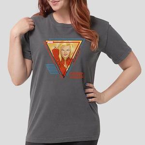 Captain Marvel Triangl Womens Comfort Colors Shirt