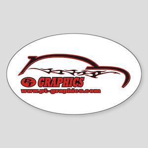 PT-Graphics Logo Oval Sticker