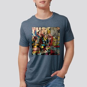 Thor Collage Mens Tri-blend T-Shirt