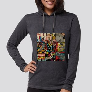 Thor Collage Womens Hooded Shirt