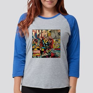 Thor Collage Womens Baseball Tee
