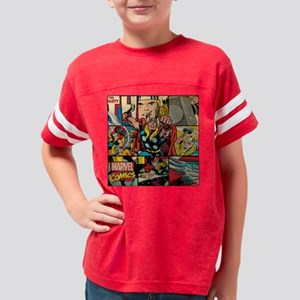 Thor Collage Youth Football Shirt