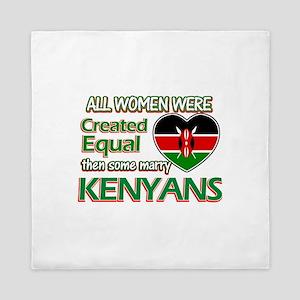 Kenyan husbands designs Queen Duvet