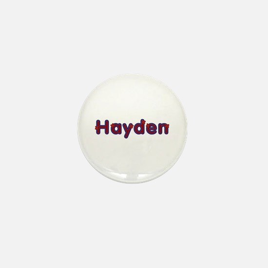 Hayden Red Caps Mini Button