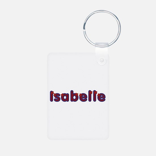 Isabelle Red Caps Aluminum Keychain