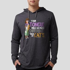 Bob's Burgers Gayle Cats Dar Mens Hooded Shirt