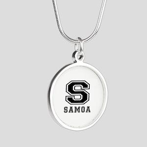 Samoa Designs Silver Round Necklace