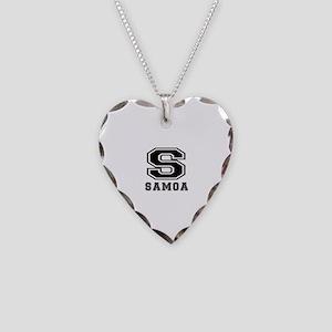 Samoa Designs Necklace Heart Charm