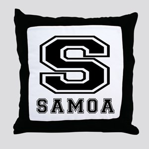 Samoa Designs Throw Pillow