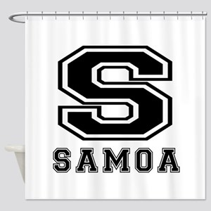 Samoa Designs Shower Curtain