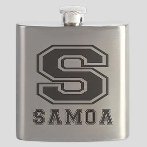 Samoa Designs Flask