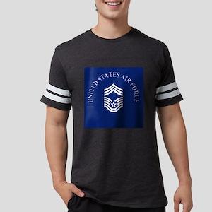 USAFChiefMasterSergeantClock.g Mens Football Shirt