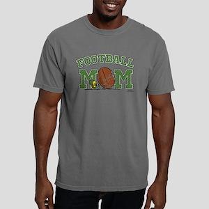 Peanuts Football Mom Mens Comfort Colors Shirt