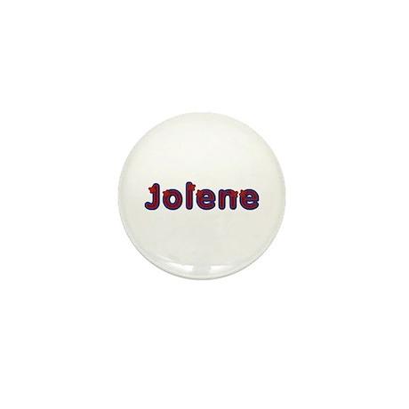 Jolene Red Caps Mini Button 10 Pack