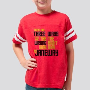 The Janeway  Youth Football Shirt