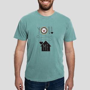 Navy You Love Me  Mens Comfort Colors Shirt