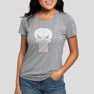 Punisher Skull Womens Tri-blend T-Shirt