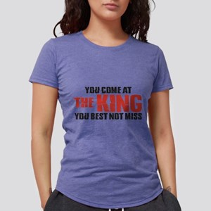 The King Womens Tri-blend T-Shirt