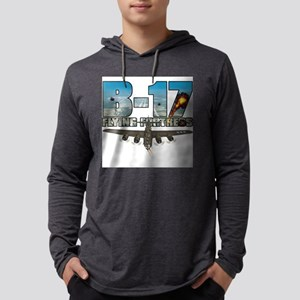 b17shirt_cafepress Mens Hooded Shirt