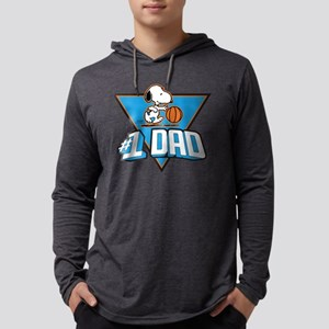 Peanuts' Father's Day Mens Hooded Shirt