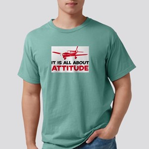 ItsAllAttitudePlaneB Mens Comfort Colors Shirt