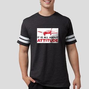 ItsAllAttitudePlaneB Mens Football Shirt
