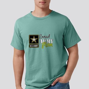 Proud Army Mom Mens Comfort Colors Shirt