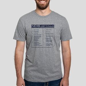 NCIS Abby's Rules Mens Tri-blend T-Shirt