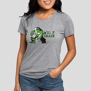Hulk Color Splash Womens Tri-blend T-Shirt