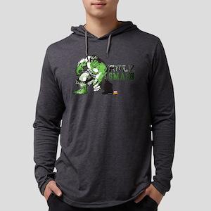 Hulk Color Splash Mens Hooded Shirt