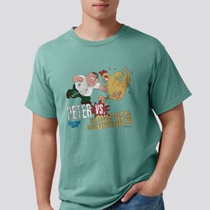 Peter vs Chicken Light Mens Comfort Colors Shirt