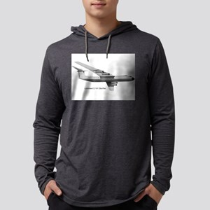 Lockheed C-141 Starlifter Mens Hooded Shirt