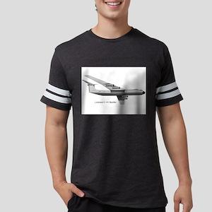 Lockheed C-141 Starlifter Mens Football Shirt