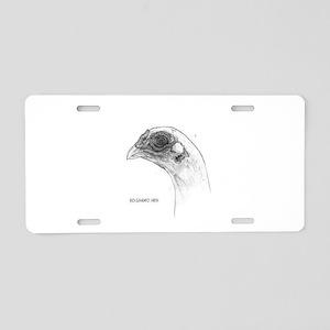KoShamo hen head Aluminum License Plate