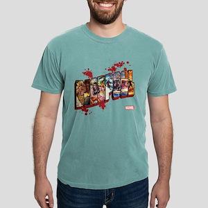 Deadpool Cinematic Mens Comfort Colors Shirt