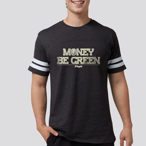 The Wire Money Be Green Mens Football Shirt