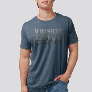 WTF Mens Tri-blend T-Shirt