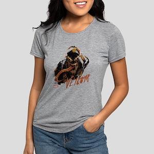 Abstract Venom Womens Tri-blend T-Shirt