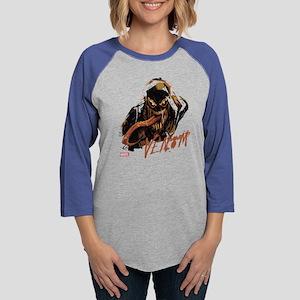 Abstract Venom Womens Baseball Tee