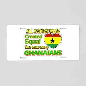Ghanaians Husband designs Aluminum License Plate