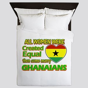 Ghanaians Husband designs Queen Duvet