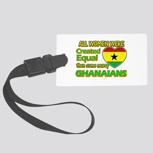 Ghanaians Husband designs Large Luggage Tag