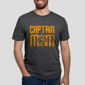 Star Trek: Captain Mom Mens Tri-blend T-Shirt