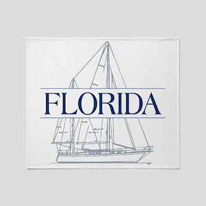 Florida - Throw Blanket